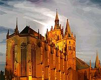 "Картина по номерам ""Немецкий собор"" под заказ 3 дня"