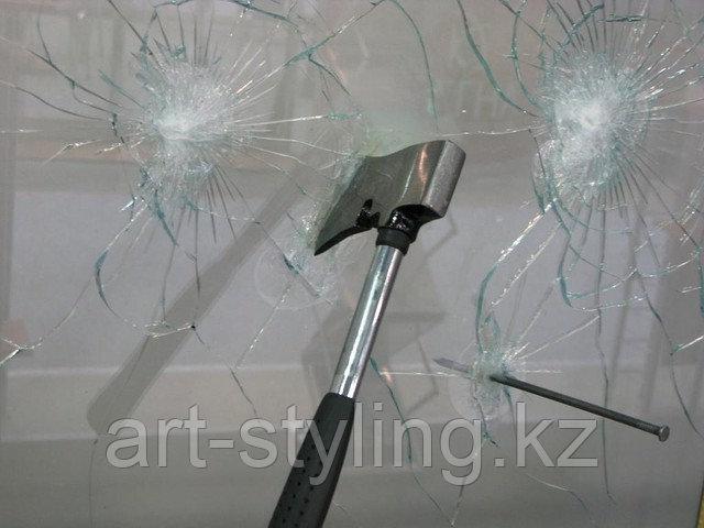 Укрепление стекол ударопрочной (защитной) пленкой