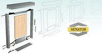Сборка дверей (система раздвижных дверей SENATOR)