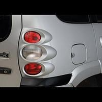 Накладки задних фонарей (кругл) Лада Нива Шевроле 2123 до 2009 гв, фото 1