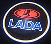 Подсветка логотипа LADA в двери
