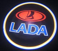 Подсветка логотипа LADA в двери, фото 1