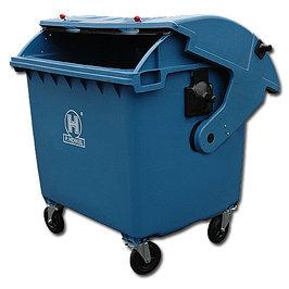 Металлические, пластиковые контейнеры для мусора.