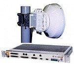 Монтаж оборудования цифровой радиорелейной системы CERAGON