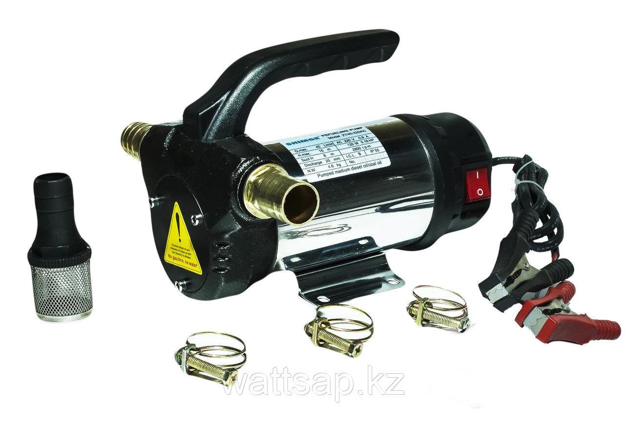 Насос 24V для перекачки дизельного топлива и масла SHIMGE ZY40-24DC