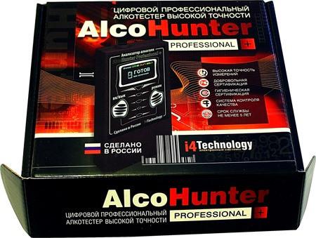 "Внешний вид алкометра ""AlcoHunter Professional+"""