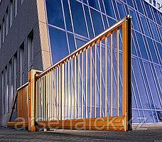 Ворота откатные на консольной фурнитуре, Алматы