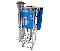 Обратноосмотический фильтр для воды RO-800 производительностью 150 л/ч при солесодержании воды до 2,5 г/л.