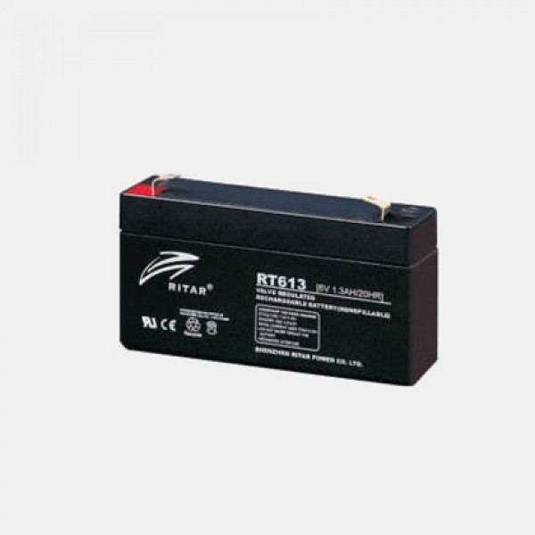 Аккумулятор Ritar RT613(6В, 1.3Ач)