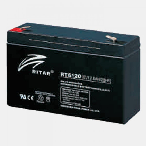 Аккумулятор Ritar RT6120(6В, 12Ач)
