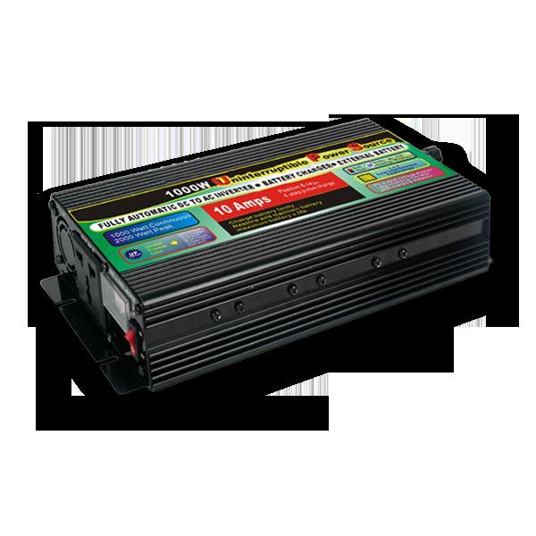 Преобразователь напряжения GD POWER 1000 Вт с функцией зарядки и UPS