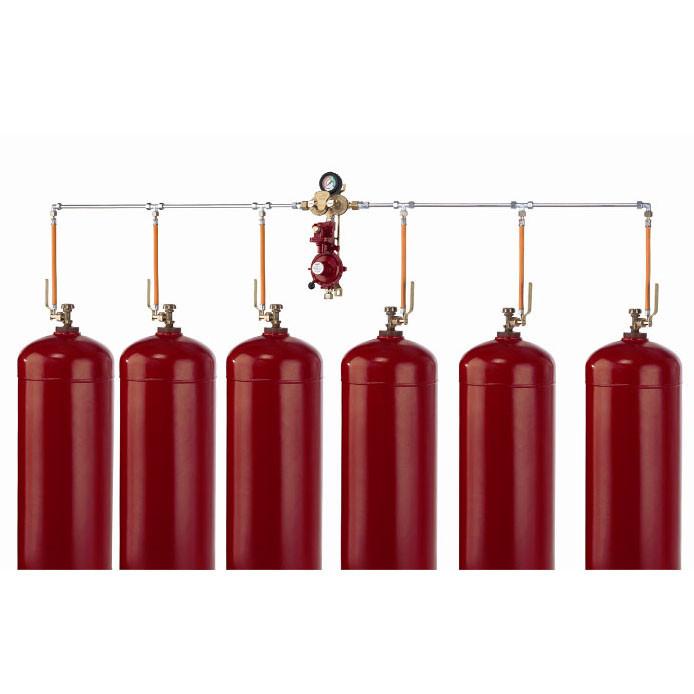 Газобалонная установка на 6 баллонов GOK (Ручная)
