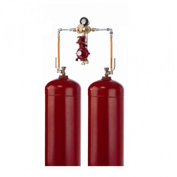 Газобалонная установка на 2 баллонов GOK (Ручная)
