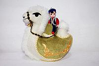 Верблюд двугорбый с наездником Большой, фото 1