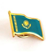 """Значек """"Флаг Казахстана"""""""