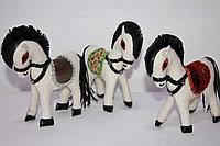 Сувенирная лошадка из войлока, фото 1