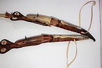 Камшы из натуральной кожи и рога