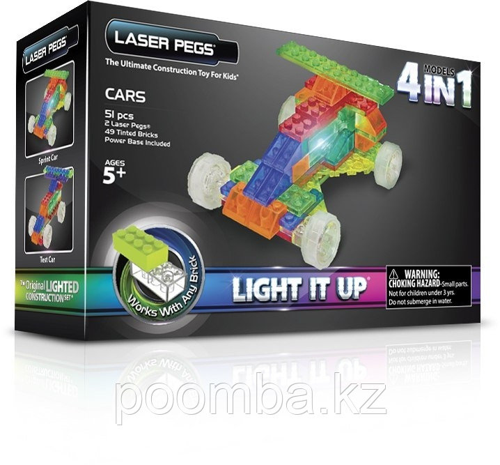 Laser Pegs Гоночный автомобиль