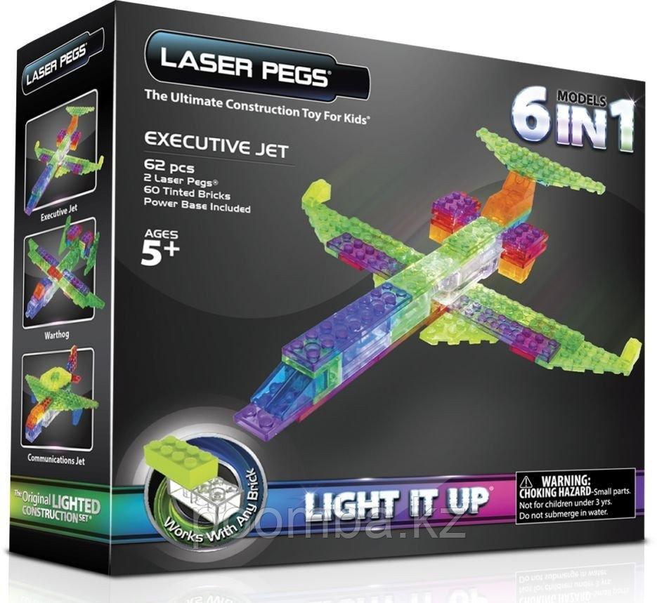 Конструктор Laser Pegs. Набор Самолеты (6 в 1)