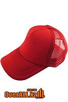 Красная промо кепка под логотип, фото 1