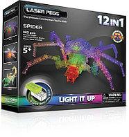 Конструктор Laser Pegs Паук, 12 в 1