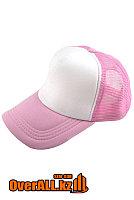Розовая промо кепка под логотип