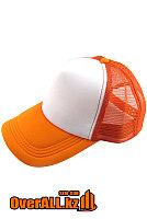 Оранжевая бейсболка под печать логотипа, фото 1