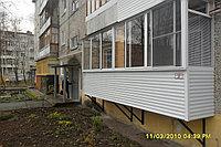балкон на первом этаже, фото 1