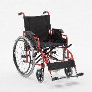 Кресло-коляска механическое стальное FS909(B)-46, фото 1