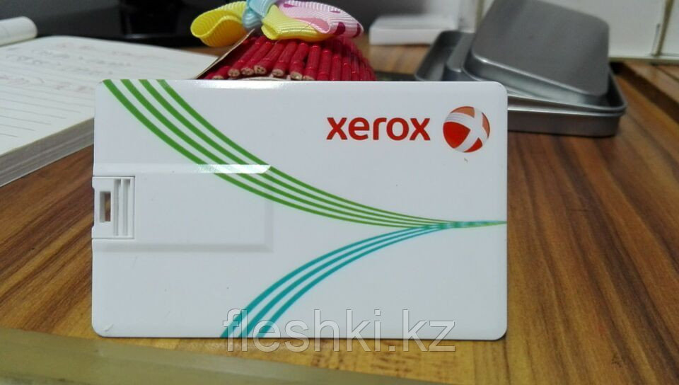 Флешка визитка 4 гб в Астане. Бесплатная доставка по Казахстану.