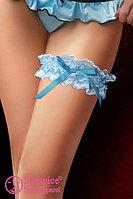 Подвязка  голубая