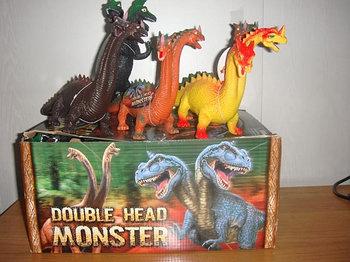 Динозавры двуглавые