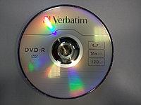 Verbatim DVD-R диск (болванка), 4,7 Гб. 16х, 120 мин., фото 1