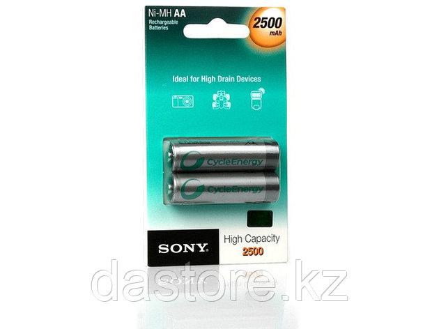 Sony NH AA-B2EN 2500mAh аккумулятор перезаряжаемый, тип АА, ёмкость 2500 mAh, фото 2