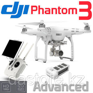 DJI Phantom 3 Advanced дрон ( вертолет с камерой Full HD камерой ), фото 2