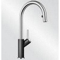 Кухонный смеситель Blanco Carena S - антрацит/хром (520980)