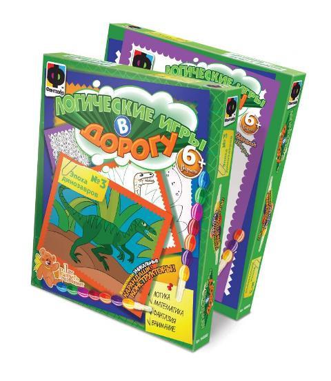 Фантазёр 948003 Логические игры №3 Эпоха динозавров