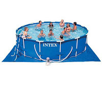 СборныйКаркасный бассейн  Intex Metal Frame Pool  457*122 , фото 1