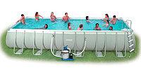 Каркасный бассейн Intex 732х366х132см +фильтр+лестница 28362, фото 1
