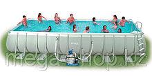 Каркасный бассейн Intex 732х366х132см +фильтр+лестница 28362