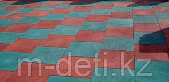 Плитка резиновая 495 x 495 x 30 мм