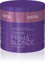 Серебристая маска для холодных оттенков блонд ESTEL PRIMA BLONDE, 300 мл.