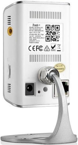 """IP-камера """"Zmodo IXA15-WAC"""" снабжена подставкой, поэтому ее можно просто поставить на стол, шкаф или любую другую горизонтальную поверхность"""