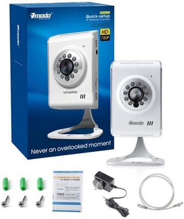 """IP-камера """"Zmodo IXA15-WAC"""" отличается богатой комплектацией"""