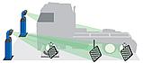 Компьютерный стенд Техно Вектор 7 с технологией 3D для грузовых автомобилей, фото 2