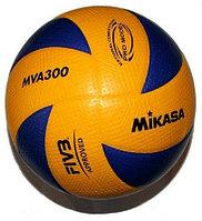 Мяч волейбольный MIKASA MVA300, профессиональный,  тренировочный, фото 1
