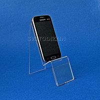 Подставка для смартфонов с ценникодержателем. Модель: М4-011
