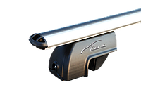 Комплект поперечин (дуг) на стандартные рейлинги LUX РА (Россия) аэродинамический профиль шириной 53 мм