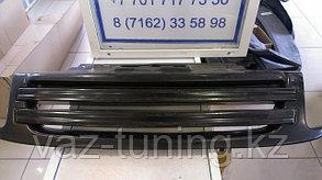 Решетка радиатора 2 полосы Лада Гранта