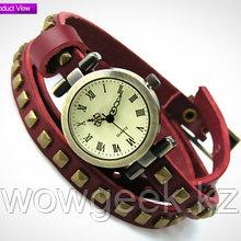 Женские ретро-часы с длинным ремешком